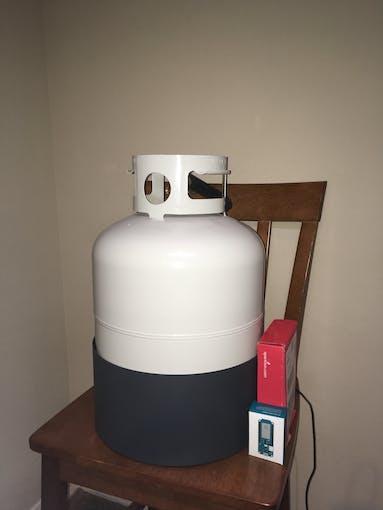 Tank in Pedestal