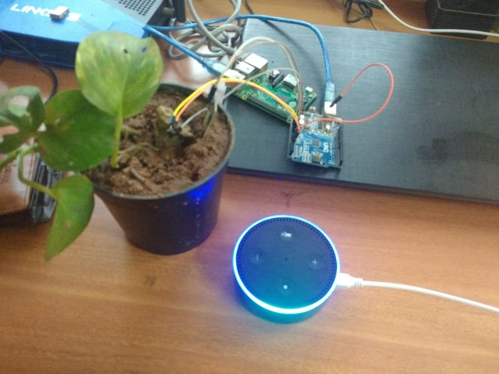 Alexa Based Plant Monitoring System