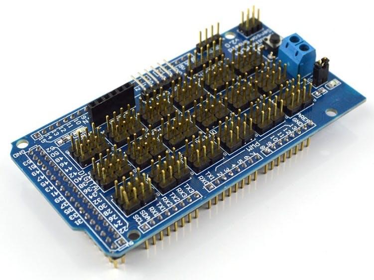 Using Arduino Mega Sensor Shield with Arduino DUE