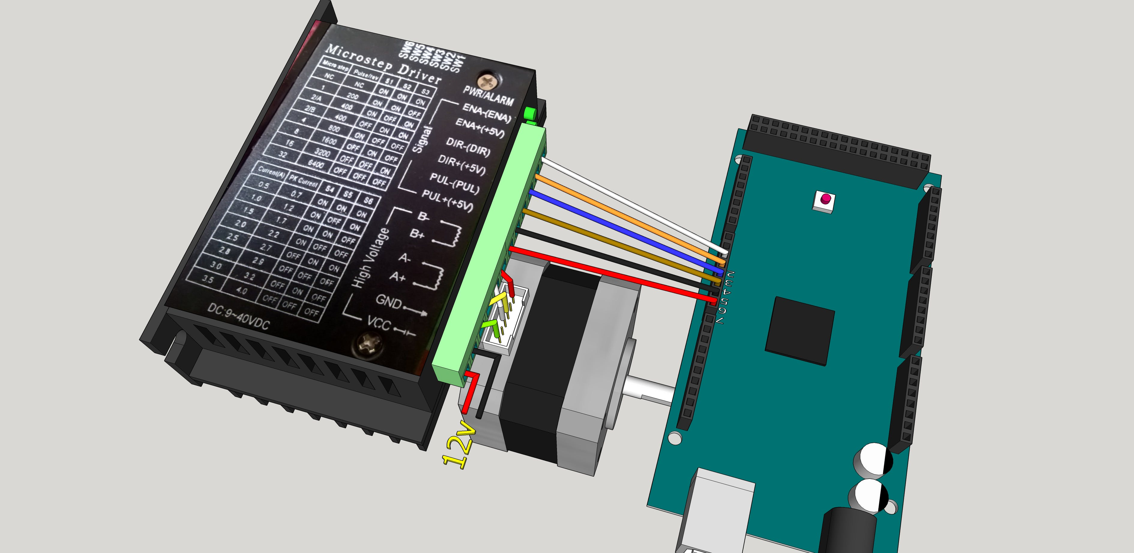 tb6600 stepper motor driver tester