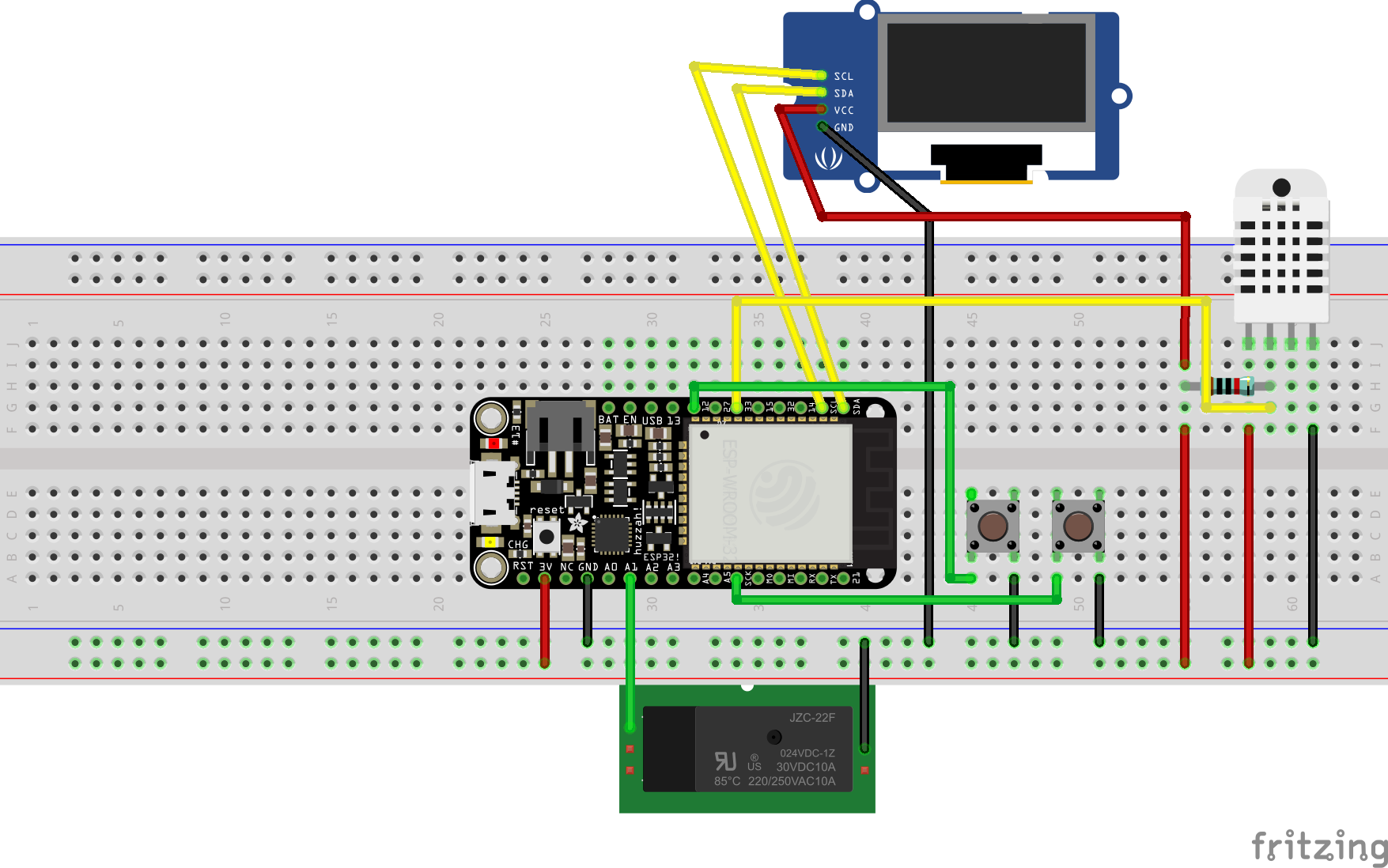 Google Home / Alexa Enabled WiFi Thermostat - Hackster io