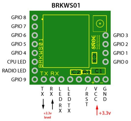 BRKWS01 pinout