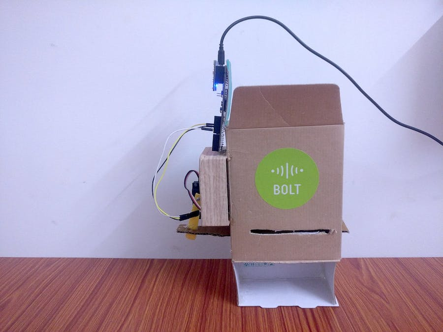 Diy Pet Feeder Using Bolt Arduino Project Hub