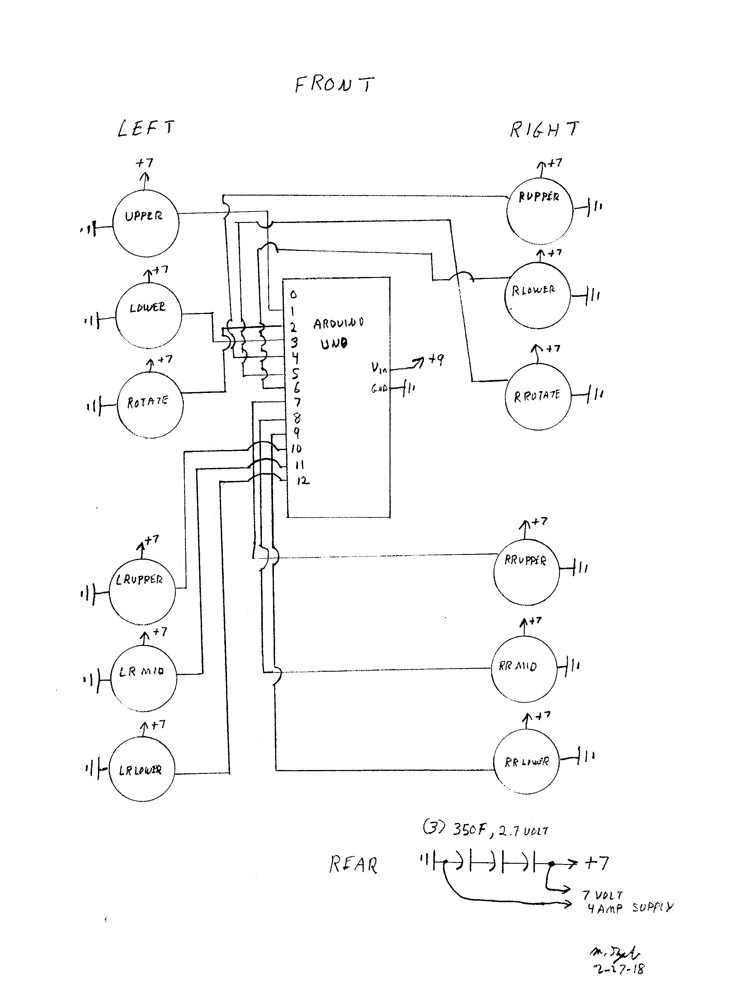 mike s robot dog hackster io BT Hub Web Page schematic