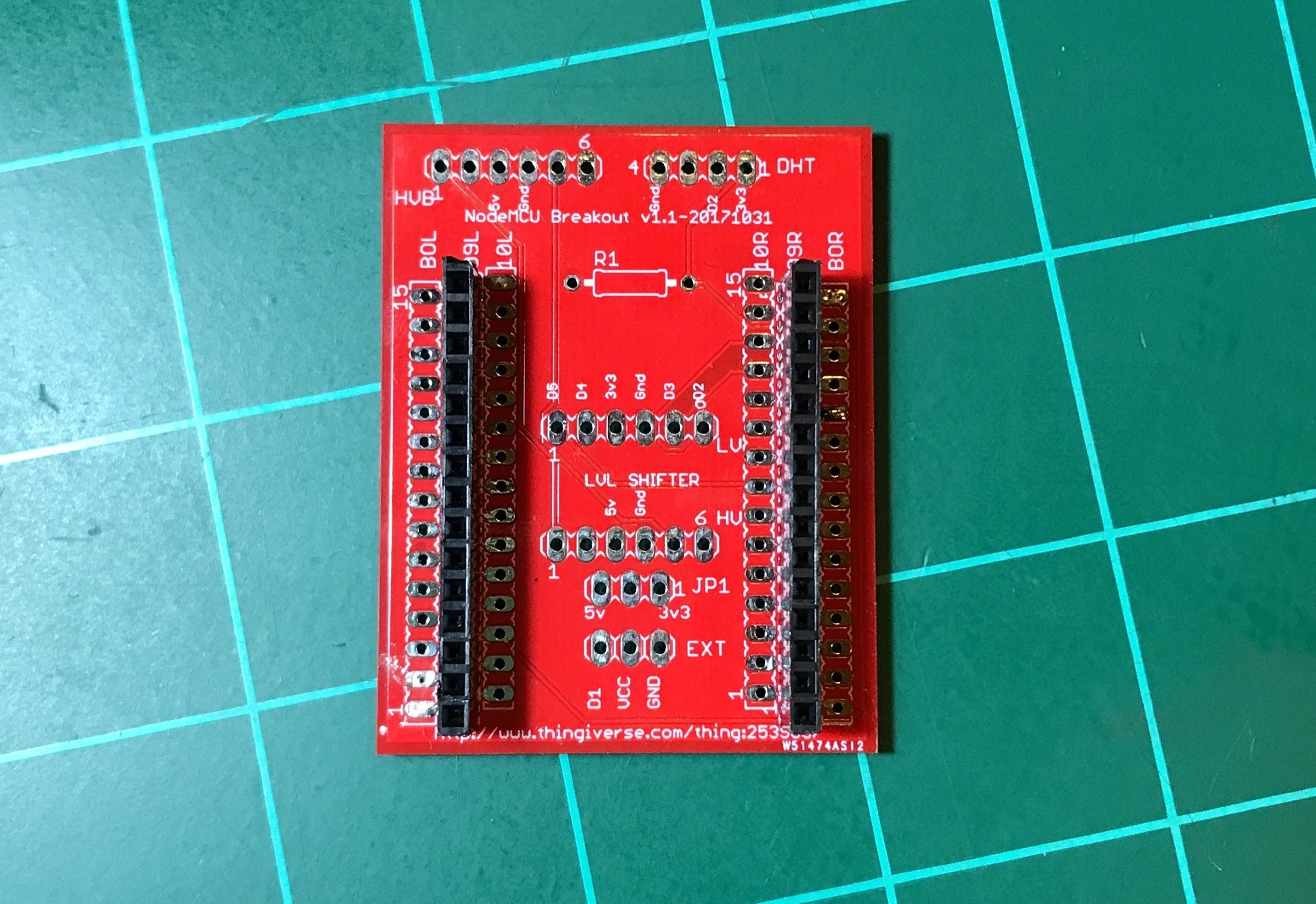 Figure 4: Final version of the PCB