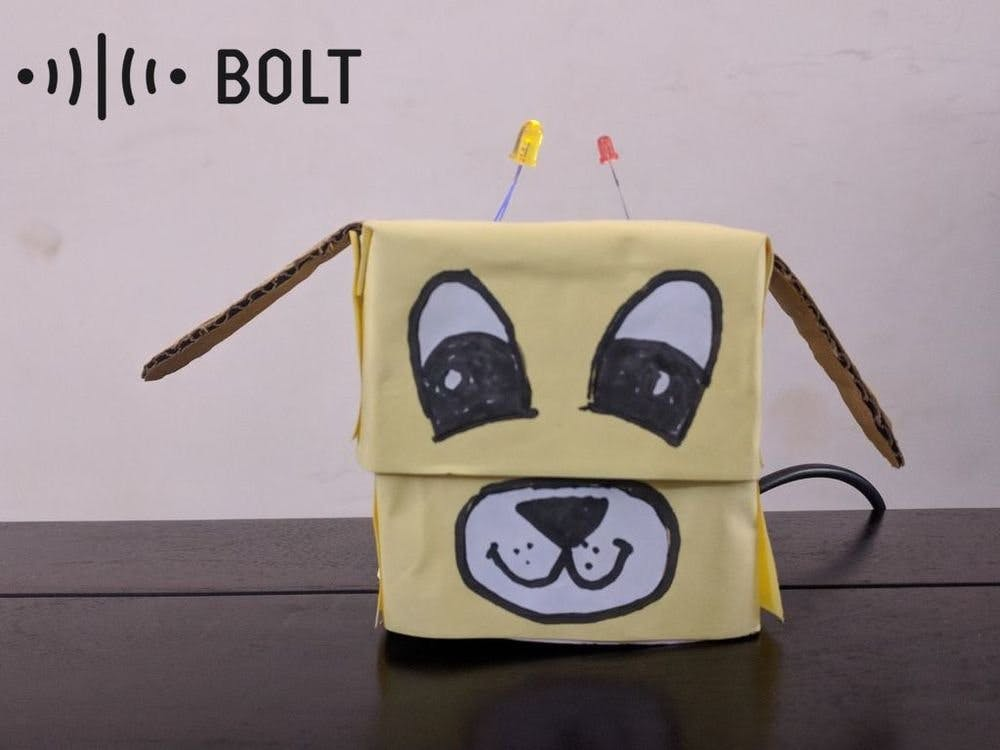 Desk Buddy Using Bolt IoT