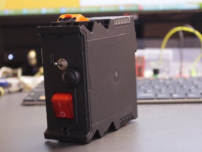 Alarm Cube for Greenhouse