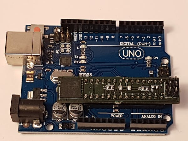 Arduino uno with times more memory hackster