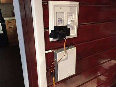 Lane Tech HS - PCL - Home Automated Light Switch