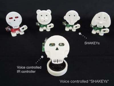 "Voice Controlled ""SHAKEYs"""