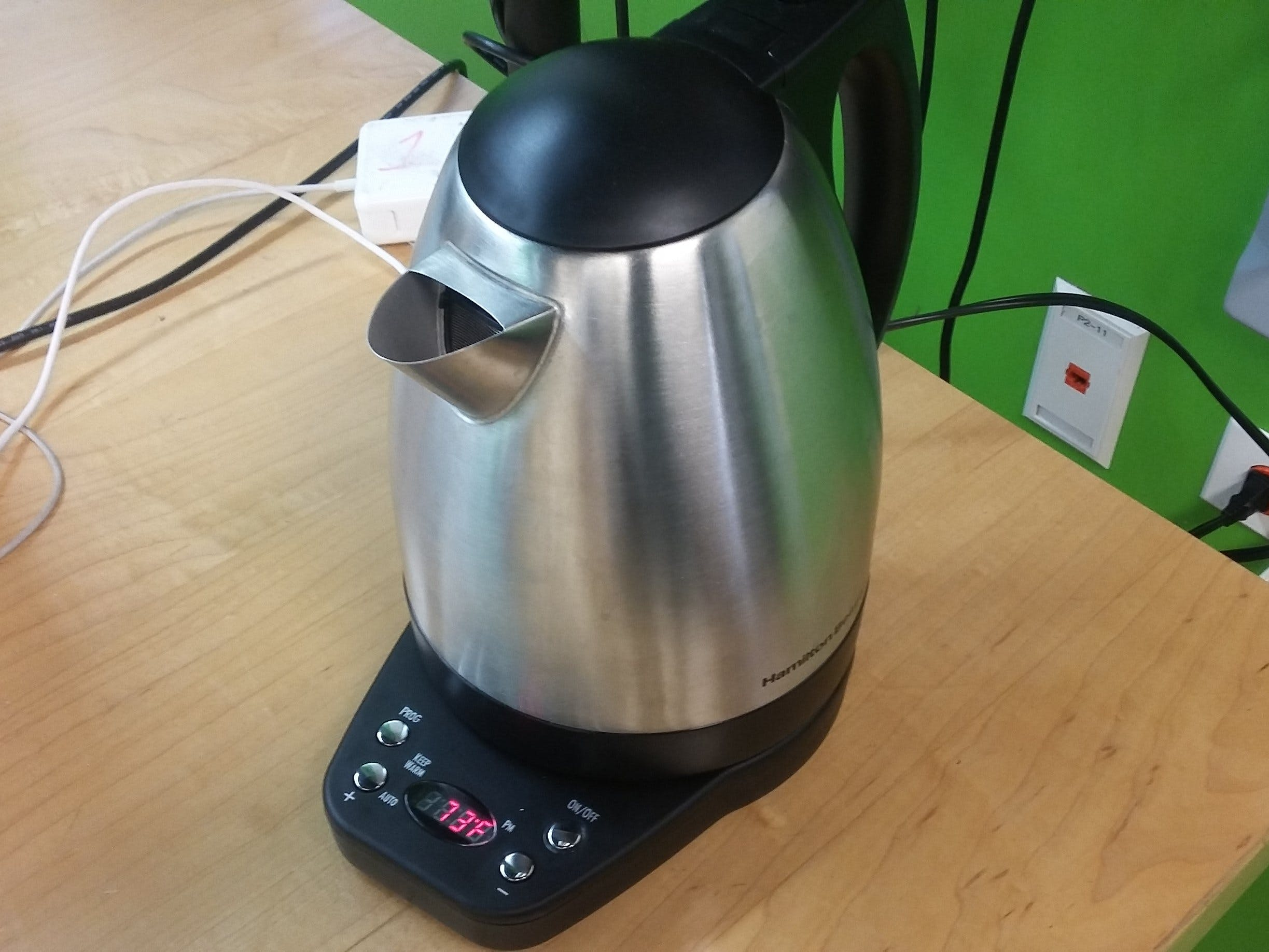 Lane Tech HS - PCL - IFTTT Connected Kettle