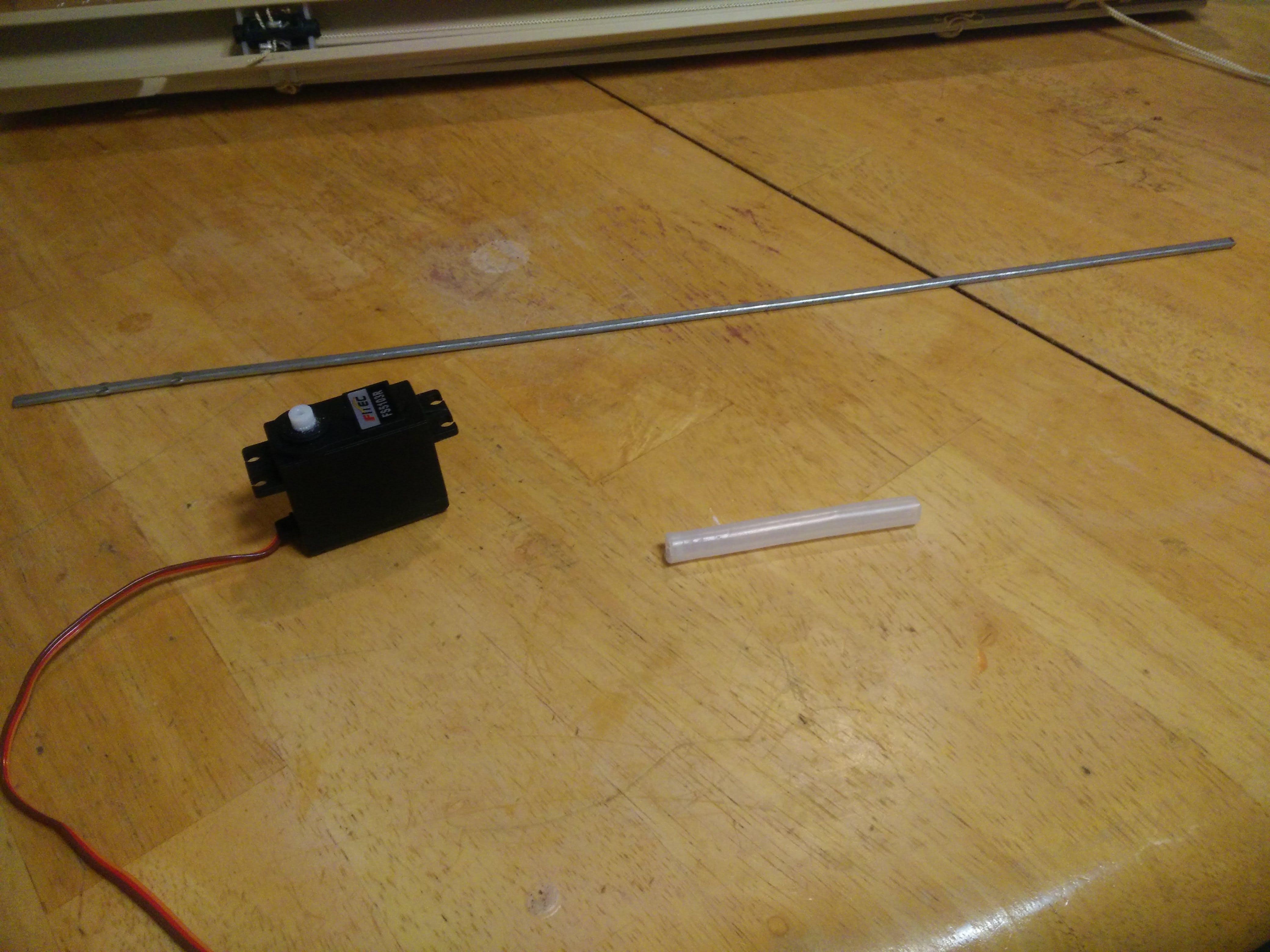 Servo, blind rod, and tubing