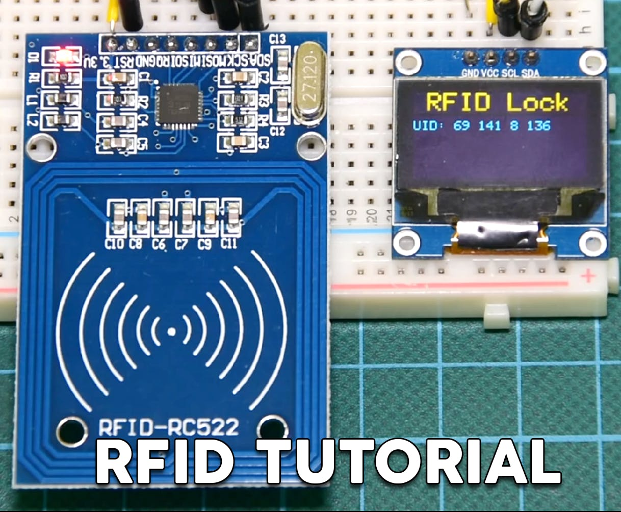 Arduino RFID Lock Tutorial