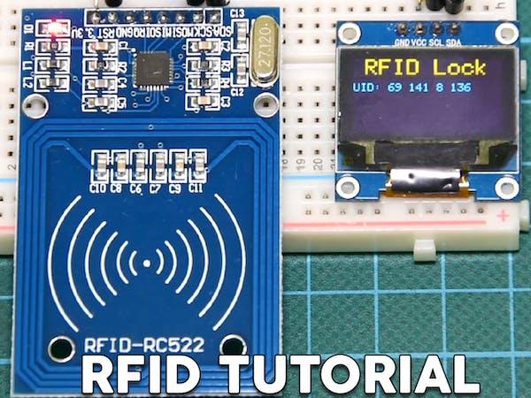 Arduino rfid lock tutorial hackster