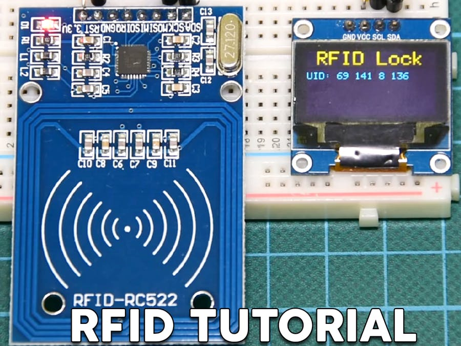 Arduino RFID Lock Tutorial - Arduino Project Hub