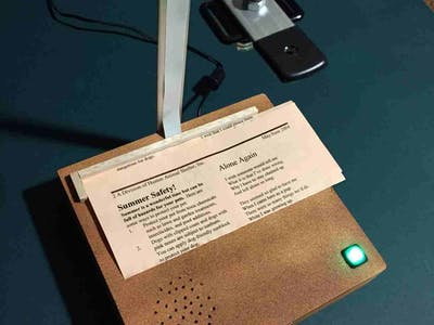 PiTextReader for Impaired Vision