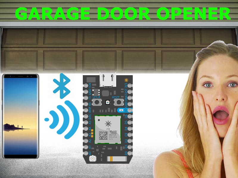 Lane Tech HS - PCL - IOT Bluetooth Garage Door Opener