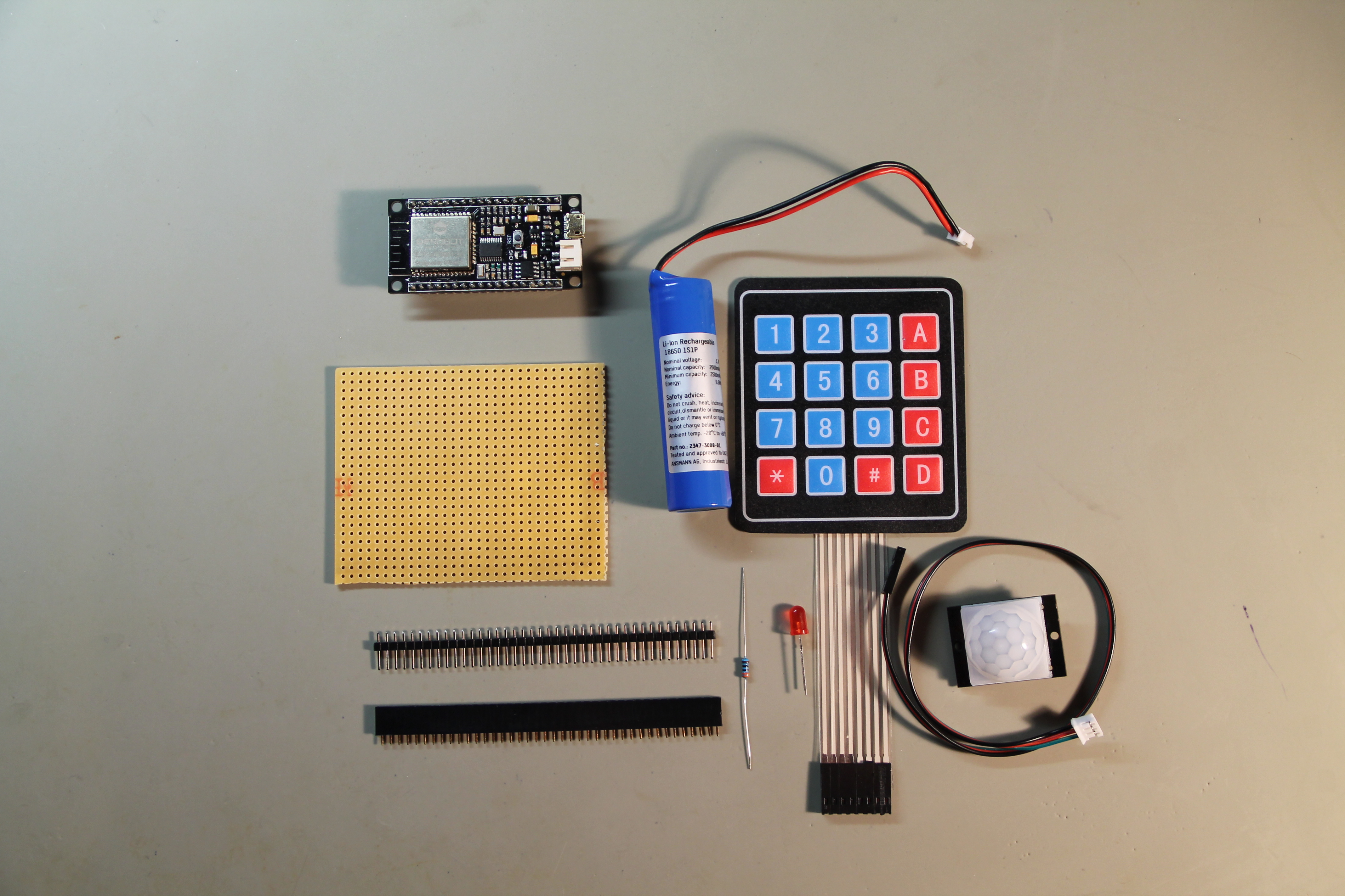 ESP32 Projects: Mail Alarm
