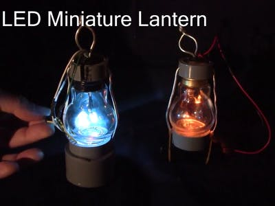 Full Color LED Miniature Lantern