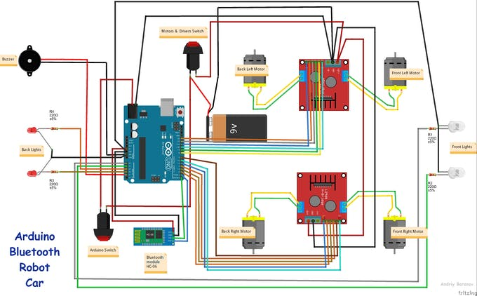 cogsley robot wiring diagram android apps controlled arduino robot car - hackster.io toy robot wiring diagram