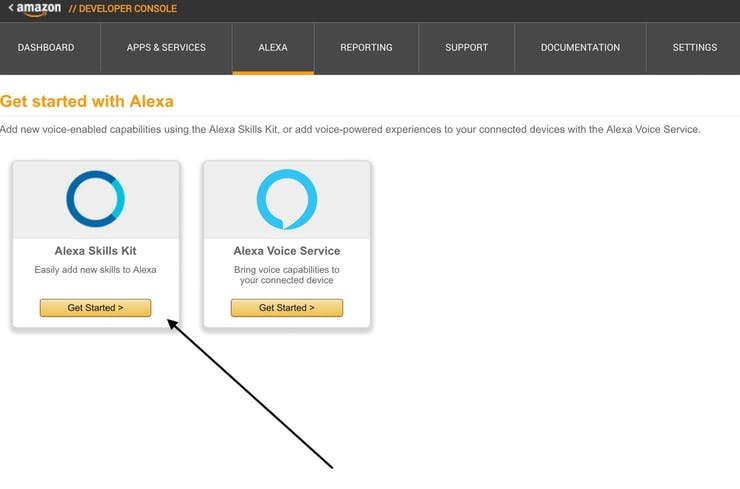Create Alexa Skill Set