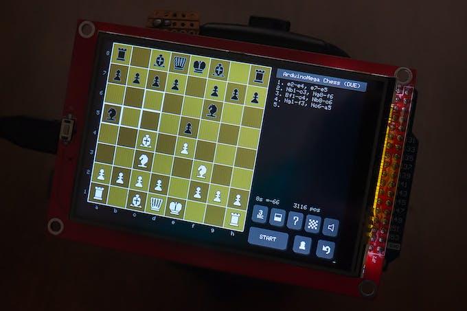Arduino Mega Chess on DUE