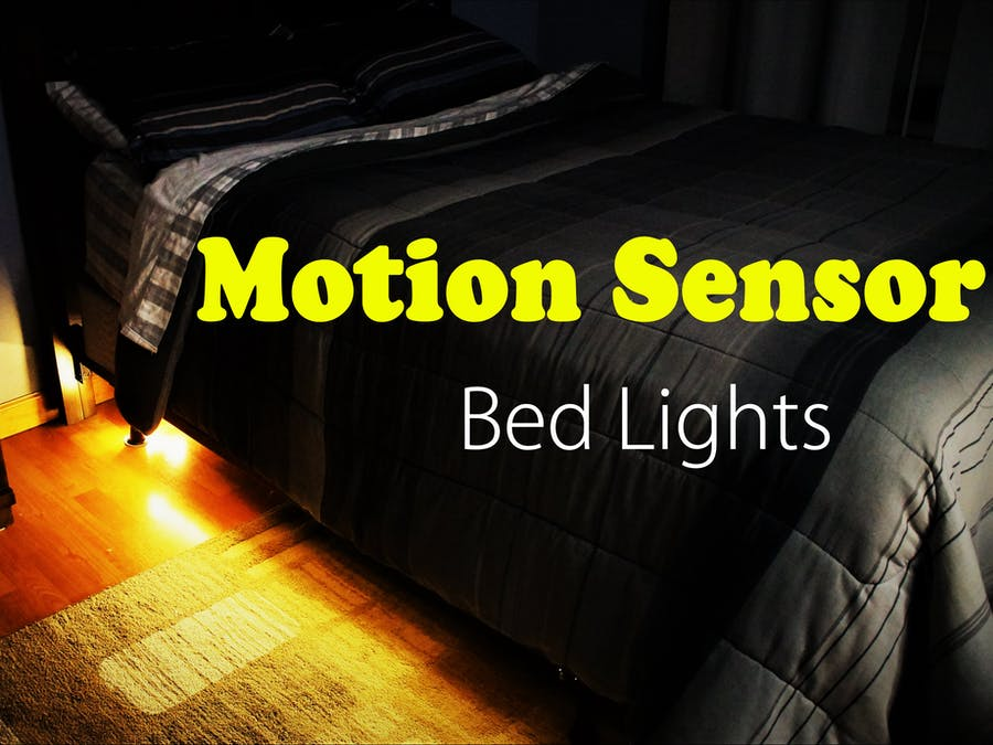 Motion Controlled Bed Lights