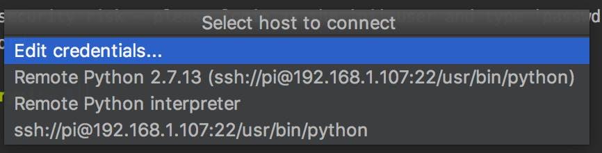 Connect JetBrains PyCharm to Raspberry pi - Hackster io
