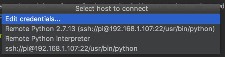 Connect JetBrains PyCharm to Raspberry pi - Hackster io