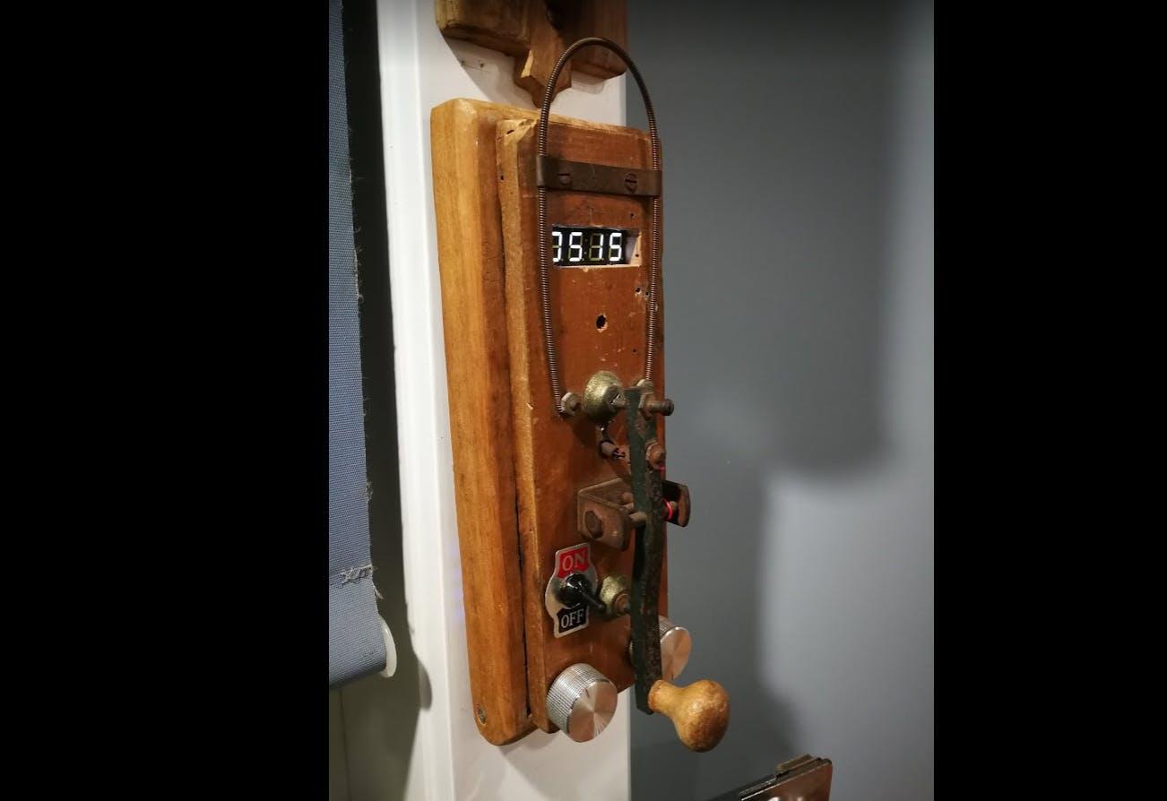 Morse Code Kitchen Timer