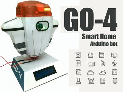 GO-4 Smart Home Arduino Bot