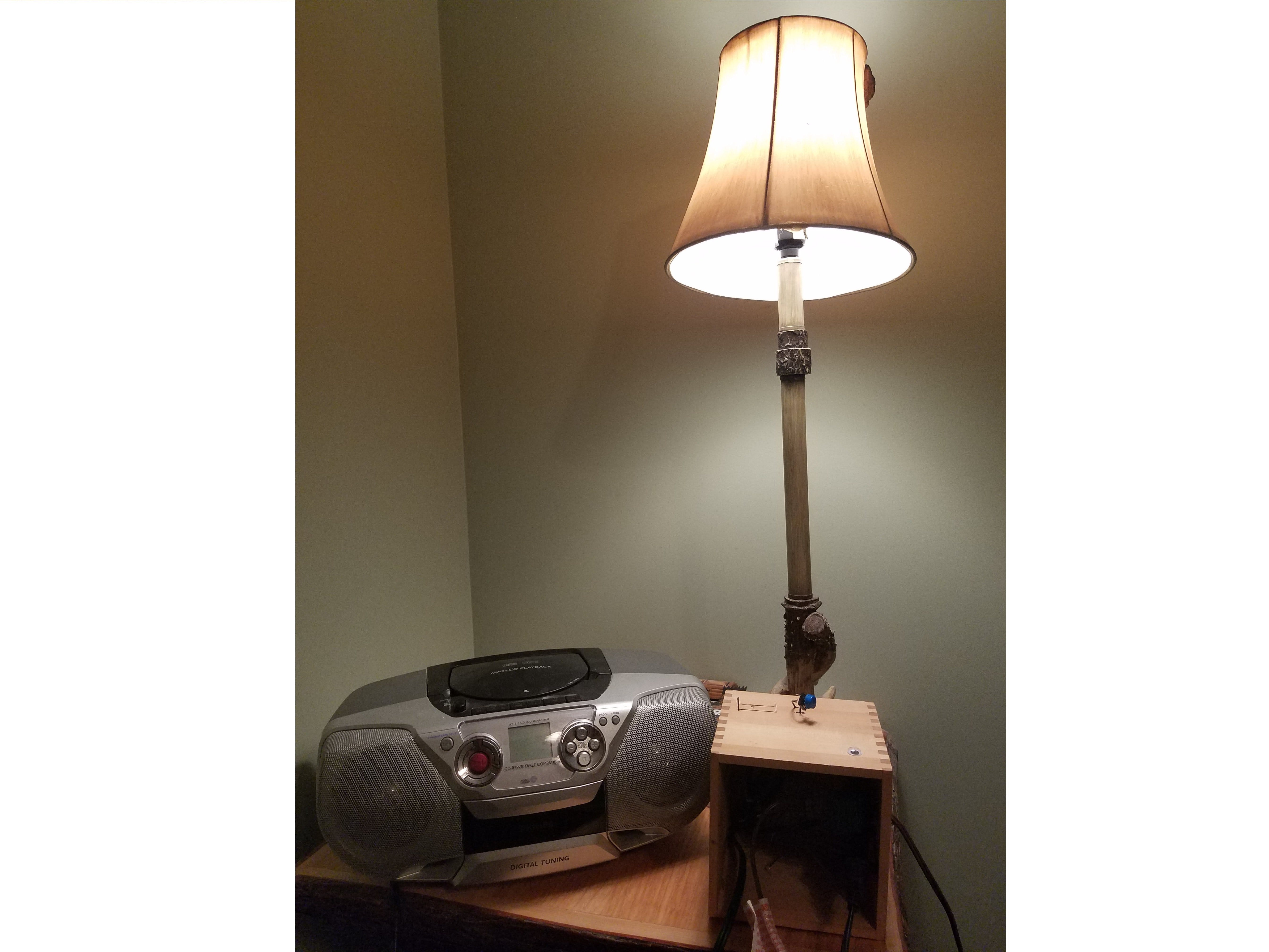 Lane Tech HS - PCL - Lamp And Radio Alarm