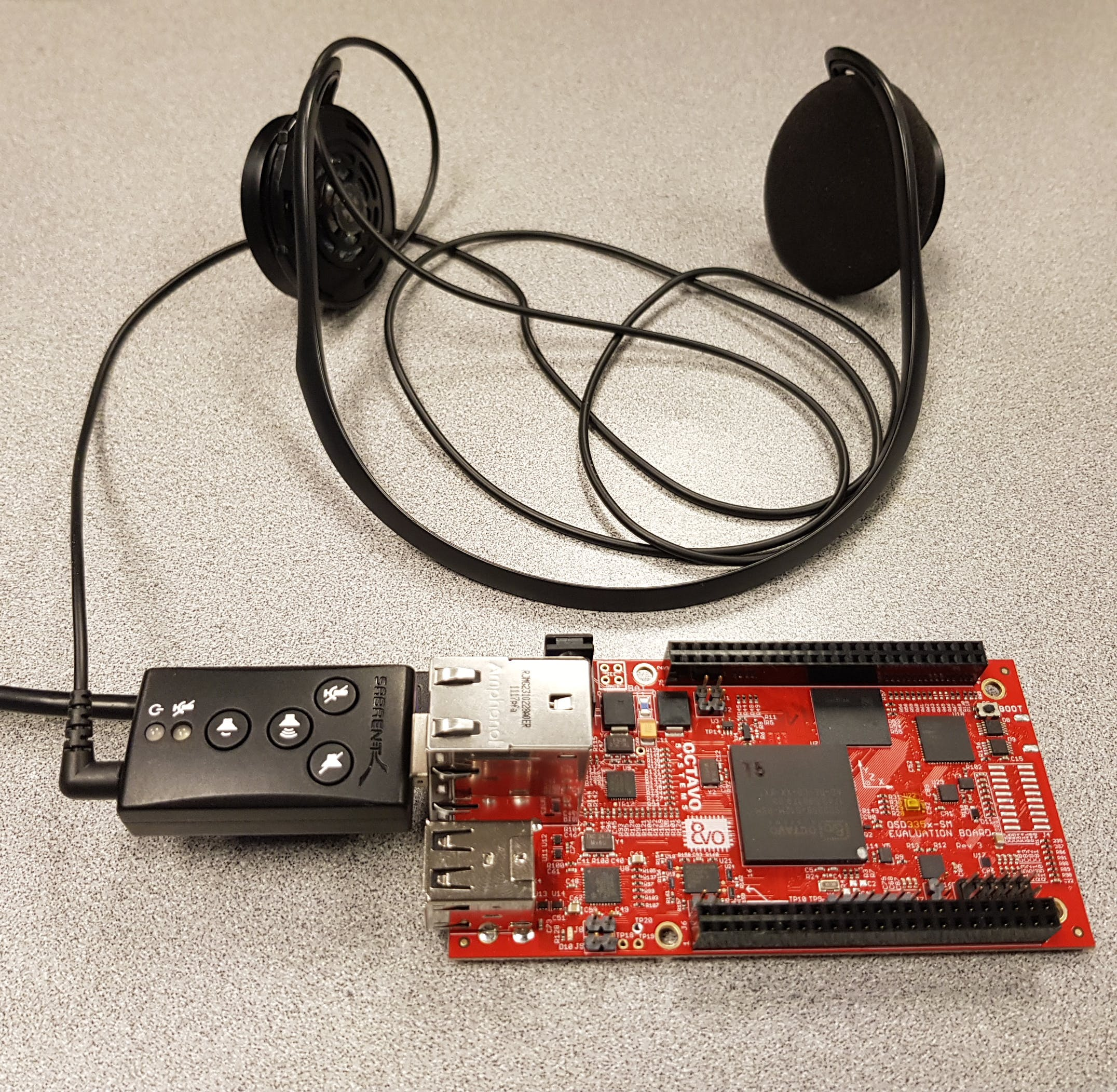 Text-to-Speech set up with OSD3358-SM-RED