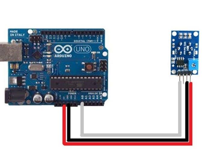 arduino and mq 135 gas sensor with arduino code