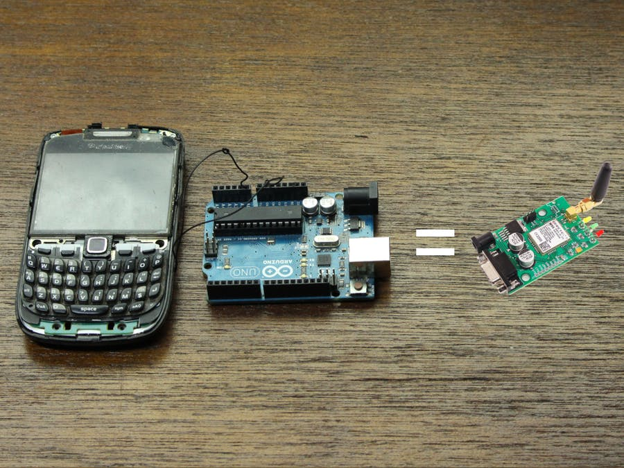 Don't Buy a GSM Module, Use Your Old Phone! - Hackster io