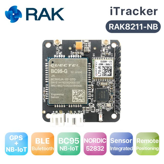 Getting Started with BLE-Based 6LowPAN on the RAK iTracker - Hackster io