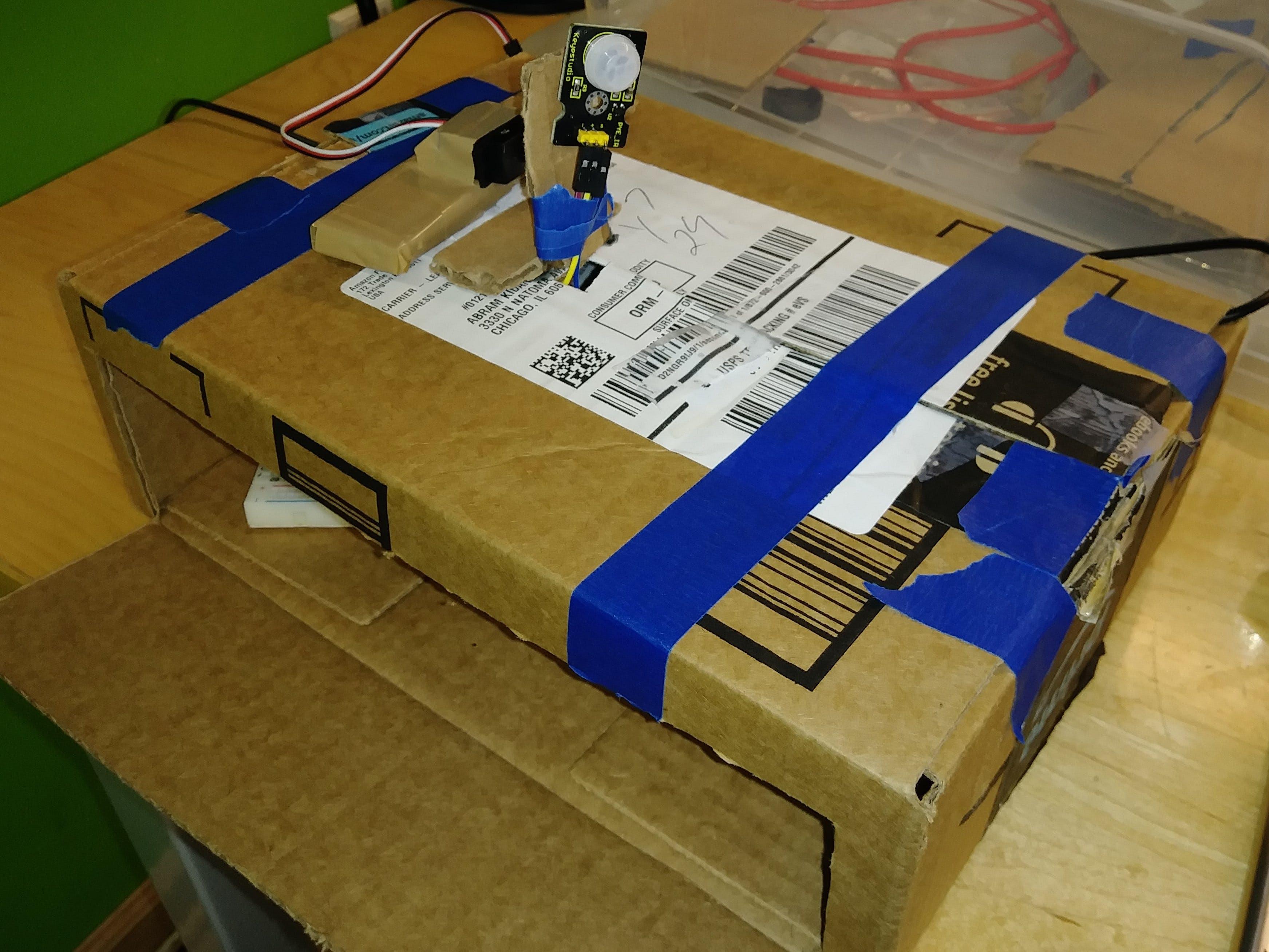 Lane Tech HS - PCL - Motion-Sensitive IOT Light Control