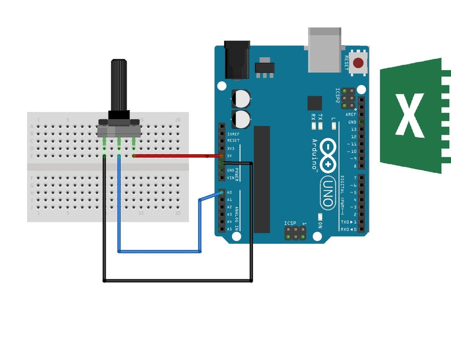 Arduino To Excel Communication - Arduino Project Hub