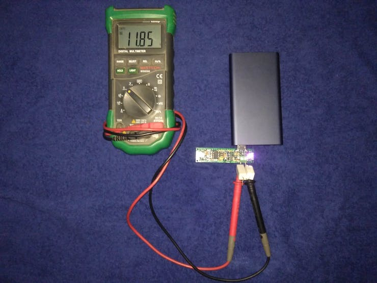 12 Volts Output from QC 2.0 Supported Power Bank