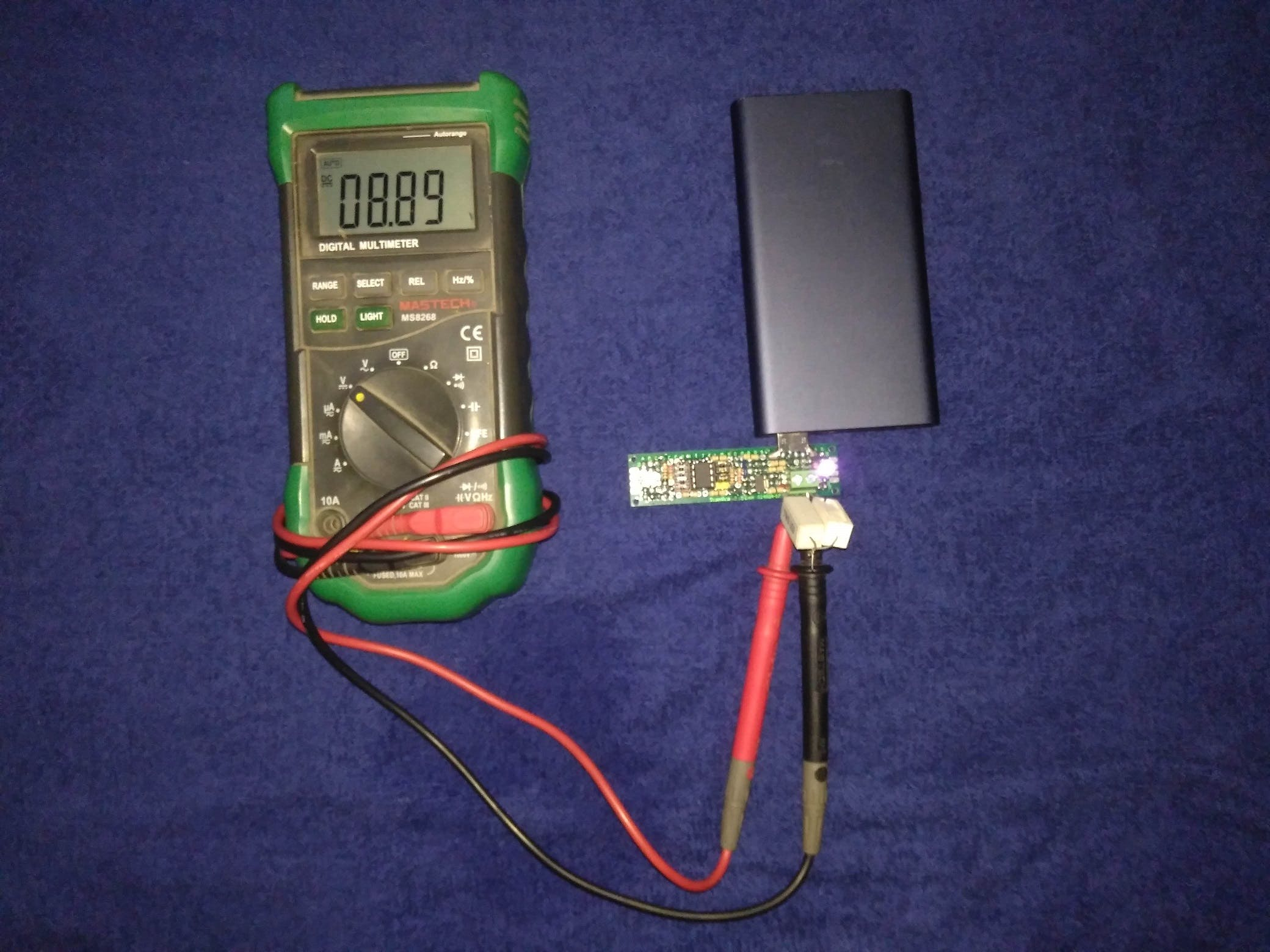 9 Volts Output from QC 2.0 Supported Power Bank