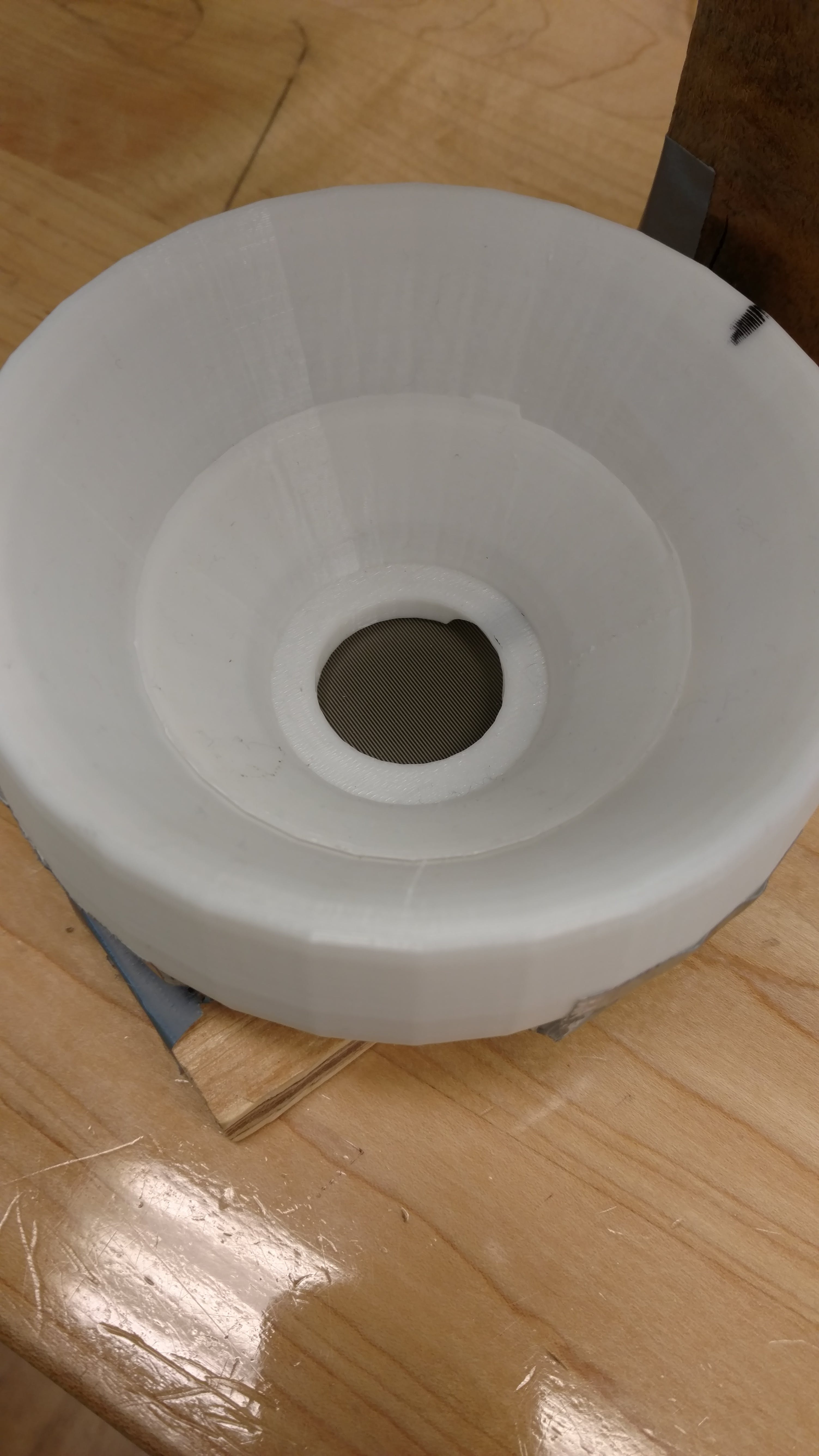 3D-Printed Bowl with a force sensor