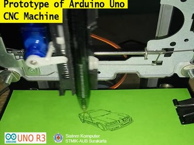 Prototype of Arduino Uno CNC Machine