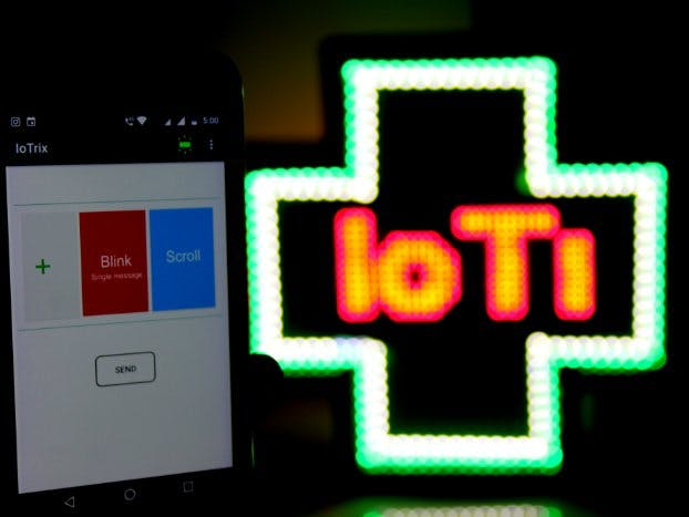 IoTrix (Smart Advertisement LED Board)