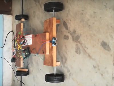 Obstacle Detecting Smartphone Operated Robocar