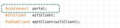 Declare AutoConnect