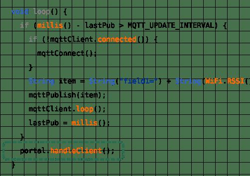 AutoConnect::handleClient()