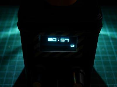 Industrial Alarm Clock