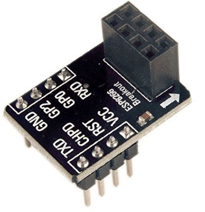 Making your life easier is an ESP8266 breadboard adapter
