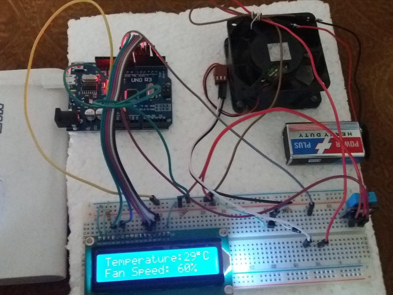 Automatic Fan Control System