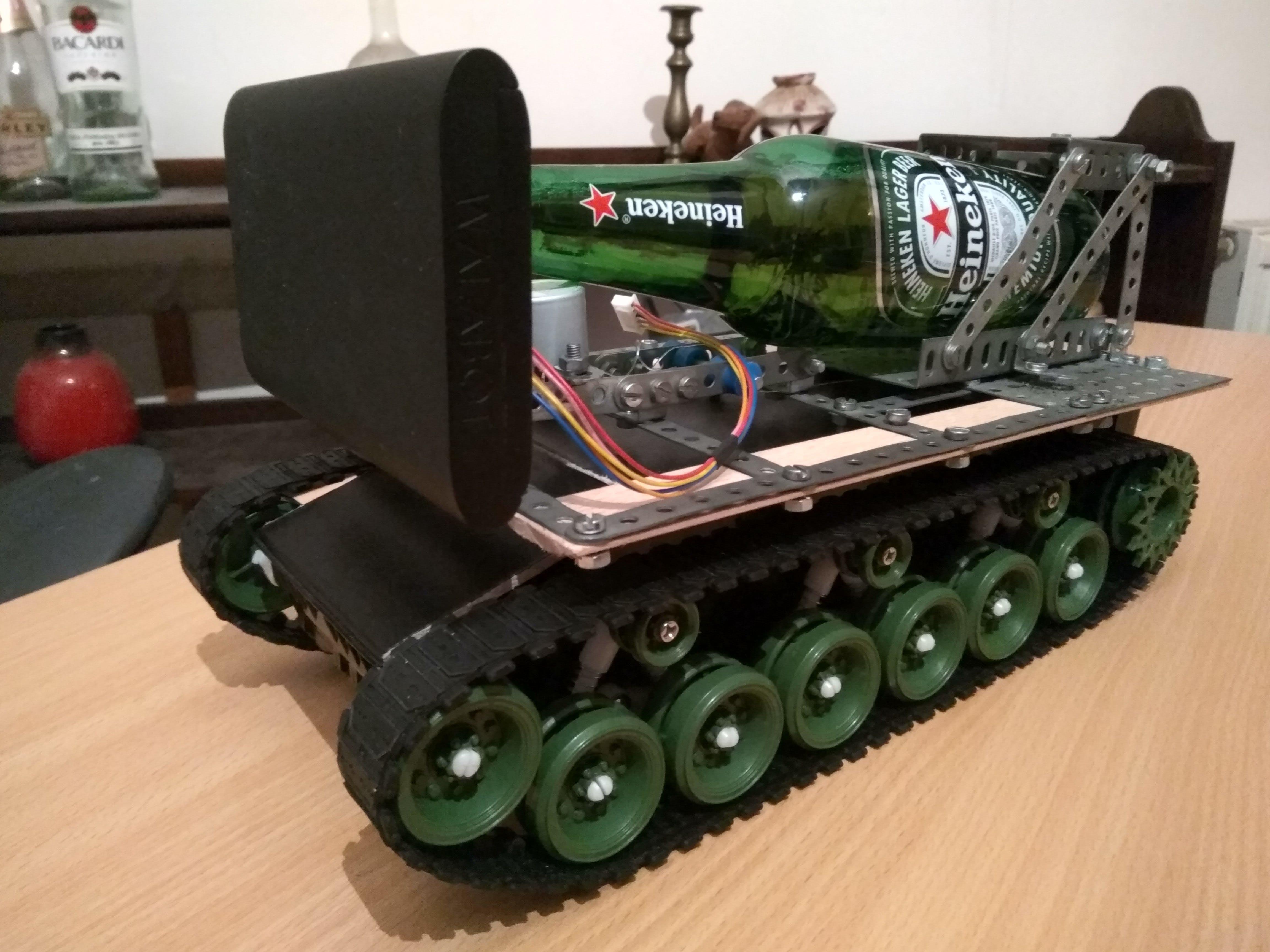 Walabot is mounted